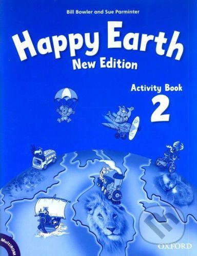 Oxford University Press Happy Earth 2 - New Edition - Activity Book + MultiROM Pack - cena od 214 Kč