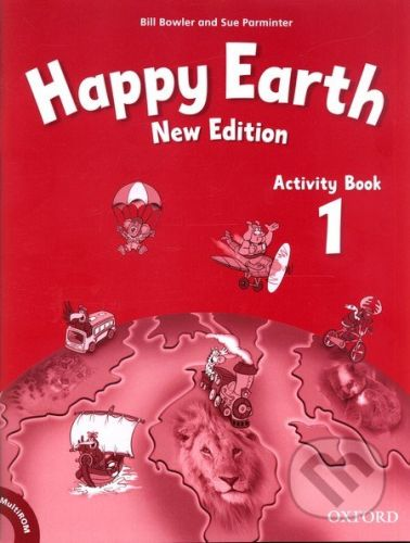 Oxford University Press Happy Earth 1 - New Edition - Activity Book + MultiROM Pack - cena od 205 Kč