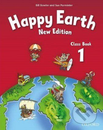 Oxford University Press Happy Earth 1 - New Edition - Class Book - cena od 257 Kč