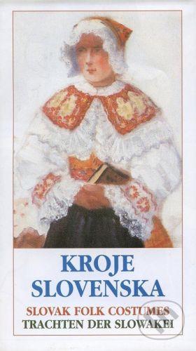 Ústredie ľudovej umeleckej výroby Kroje Slovenska / Slovak Folk Costumes / Trachten der Slowakei - cena od 95 Kč