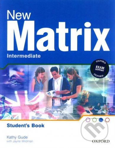 Oxford University Press New Matrix - Intermediate - Student's Book - cena od 350 Kč