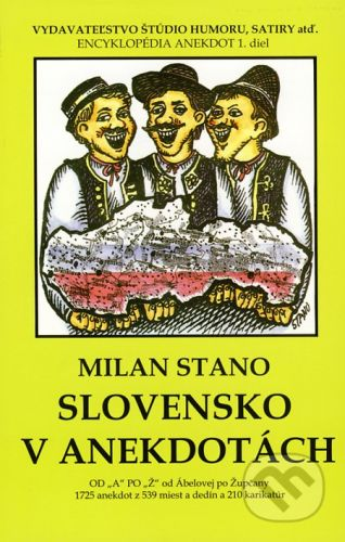 Milan Stano: Slovensko v anekdotách cena od 98 Kč