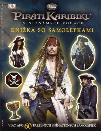 Egmont Piráti Karibiku: V neznámych vodách (Knižka so samolepkami) - cena od 70 Kč