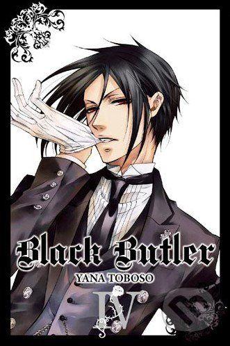 Yen Press Black Butler IV. - Yana Toboso cena od 358 Kč