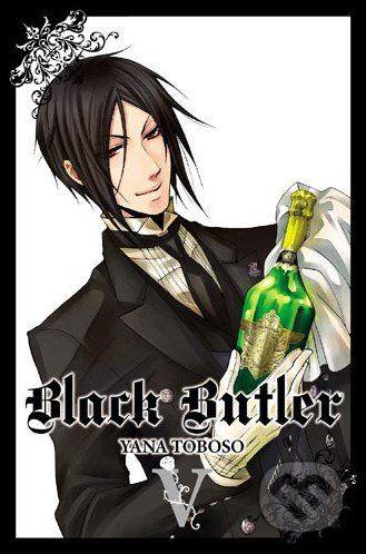 Yen Press Black Butler V. - Yana Toboso cena od 358 Kč