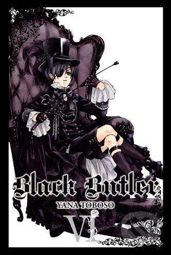 Yen Press Black Butler VI. - Yana Toboso cena od 328 Kč