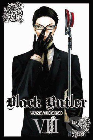 Yen Press Black Butler VIII. - Yana Toboso cena od 325 Kč