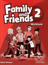 Oxford University Press Family and Friends 2 - Workbook - Naomi Simmons cena od 172 Kč