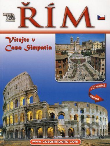 Řím - Vítejte v Casa Simpatia + 20 kupónů zdarma cena od 62 Kč
