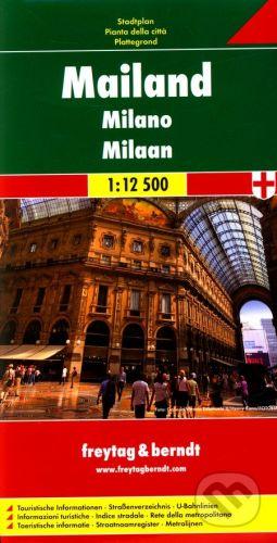 vydavateľ neuvedený Milano 1:12 500 (plán mesta) - cena od 140 Kč