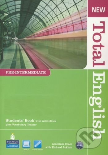 Pearson, Longman New Total English - Pre-Intermediate - Students Book with Active Book - Araminta Crace, Richard Acklam cena od 461 Kč