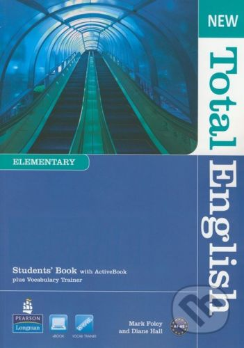 Pearson, Longman New Total English - Elementary - Students Book with Active Book - Mark Foley, Diane Hall cena od 461 Kč