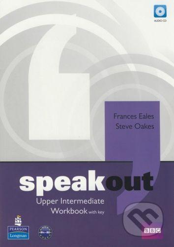 Pearson, Longman Speakout - Upper Intermediate - Workbook with key - Frances Eales, Steve Oakes cena od 239 Kč