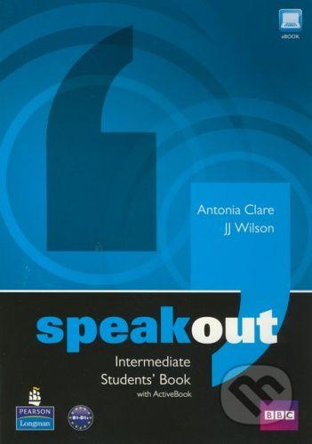 Pearson, Longman Speakout - Intermediate - Students Book with Active Book - Antonia Clare, J.J. WIlson cena od 456 Kč