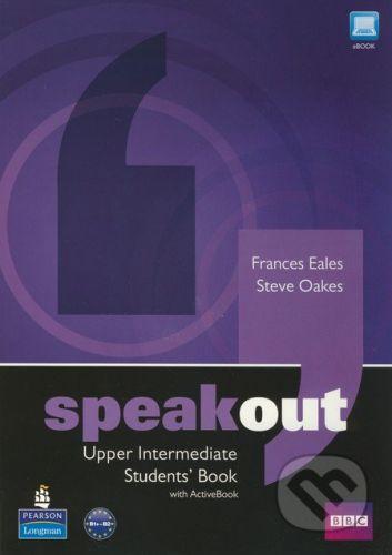 Pearson, Longman Speakout - Upper Intermediate - Students Book with Active Book - Frances Eales, Steve Oakes cena od 467 Kč