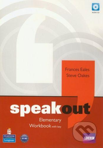 Pearson, Longman Speakout - Elementary - Workbook with key - Frances Eales, Steve Oakes cena od 258 Kč