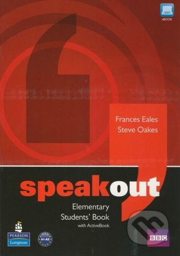 Pearson, Longman Speakout - Elementary - Students Book with Active Book - Frances Eales, Steve Oakes cena od 454 Kč