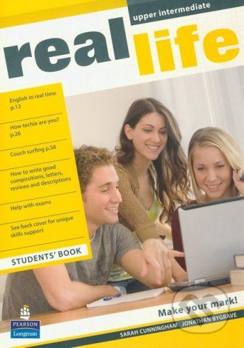 Pearson, Longman Real Life - Upper Intermediate - Students Book - Sarah Cunningham, Jonahan Bygrave cena od 301 Kč