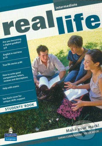 Pearson, Longman Real Life - Intermediate - Students Book - Sarah Cunningham, Peter Moor cena od 308 Kč
