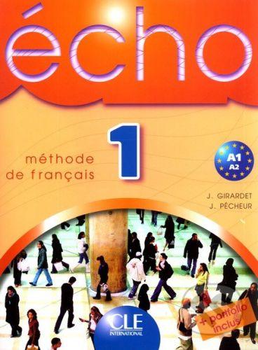 Cle International Écho 1 - Méthode de Francais (Livre de l'éleve) - cena od 373 Kč