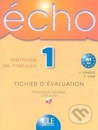Cle International Écho 1 - Méthode de Francais - cena od 611 Kč