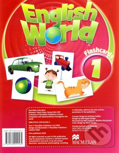 MacMillan English World 1: Flashcards - cena od 584 Kč