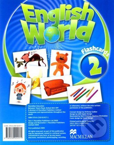 MacMillan English World 2: Flashcards - cena od 584 Kč