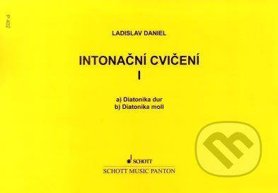 SCHOTT MUSIC PANTON s.r.o. Intonační cvičení - Ladislav Daniel cena od 56 Kč