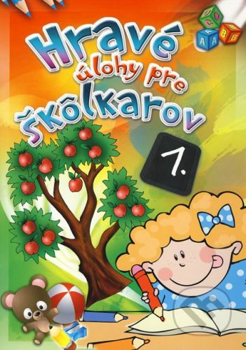 EX book Hravé úlohy pre škôlkarov 1. - cena od 40 Kč