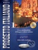 Edilingua Nuovo Progetto Italiano 1: Libro dello studente + CD-ROM - cena od 382 Kč