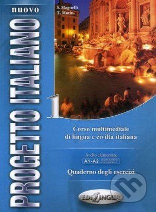 Edilingua Nuovo Progetto Italiano 1: Quaderno degli Esercizi + CD - cena od 259 Kč