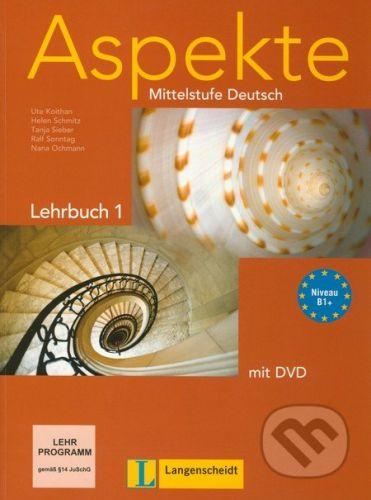 Langenscheidt Aspekte - Lehrbuch (B1+ mit DVD) - Ute Koithan, Helen Schmitz, Tanja Sieber, Ralf Sonntag, Nana Ochmann cena od 434 Kč