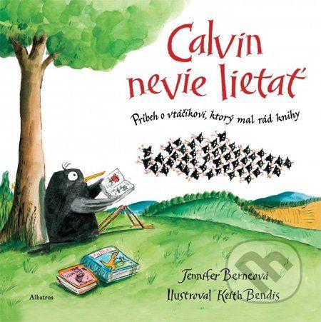 Albatros Calvin nevie lietať - Jennifer Berne cena od 0 Kč