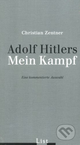 List Hardcover Adolf Hitlers Mein Kampf - Christian Zentner cena od 456 Kč