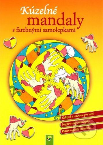 Kúzelné mandaly s farebnými samolepkami (žltá) cena od 39 Kč