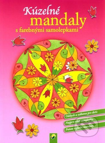 Svojtka&Co. Kúzelné mandaly s farebnými samolepkami (ružová) - cena od 45 Kč