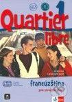 Klett Quartier Libre 1 - Francúzština pre stredné školy - Učebnica a pracovný zošit - cena od 657 Kč