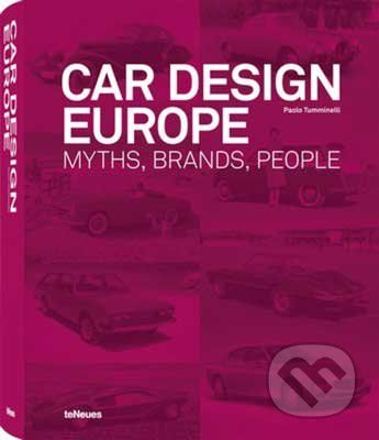 Te Neues Car Design Europe - cena od 1201 Kč