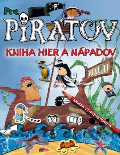 CooBoo Kniha pre pirátov - Andrea Pinningtonová cena od 0 Kč