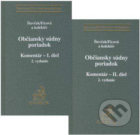 C. H. Beck Občiansky súdny poriadok - Marek Števček, Svetlana Ficová a kol. cena od 2779 Kč
