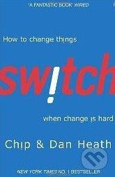 Random House Switch - Chip Heath, Dan Heath cena od 169 Kč