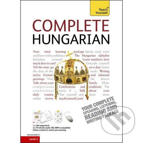 Teach Yourself Complete Hungarian - Zsuzsa Pontifex cena od 1427 Kč