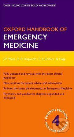 Oxford University Press Oxford Handbook of Emergency Medicine - Jonathan P. Wyatt cena od 1285 Kč