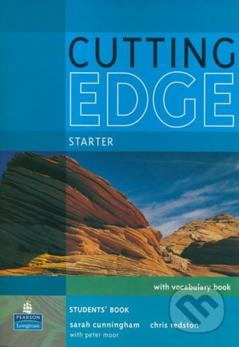 Pearson, Longman Cutting Edge - Starter - Student's Book with CD-ROM - Sarah Cunningham, Chris Redston, Peter Moor cena od 517 Kč