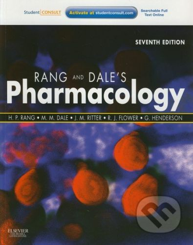 Churchill Livingstone Pharmacology - H.P. Rang, M.M Dale a kol. cena od 1762 Kč