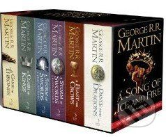 George Raymond Richard Martin: A Game of Thrones: the Story Continues (The Complete Box Set of All 6 Books) cena od 997 Kč