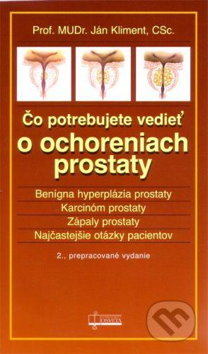 Osveta Čo potrebujete vedieť o ochoreniach prostaty - Ján Kliment cena od 43 Kč