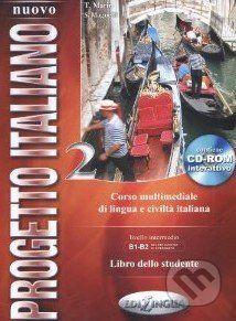 vydavateľ neuvedený Nuovo Progetto Italiano 2: Libro dello Studente - cena od 387 Kč
