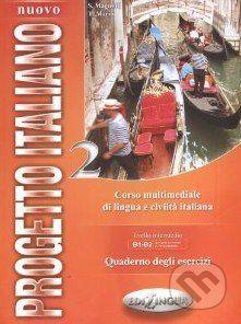 vydavateľ neuvedený Nuovo Progetto Italiano 2: Quaderno degli Esercizi - cena od 258 Kč