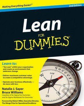 Wiley-Blackwell Lean For Dummies - Natalie J. Sayer cena od 537 Kč